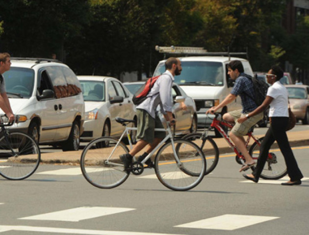 МВС підготувало кумедні пам'ятки для велосипедистів