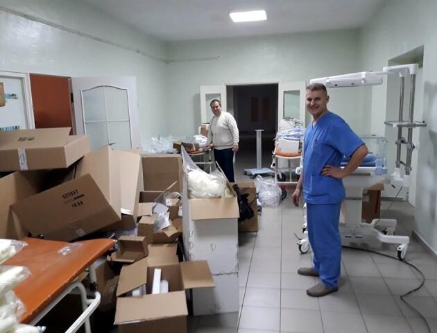 Волинська дитяча лікарня отримала обладнання з Німеччини