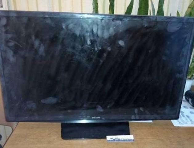 Волинська поліція шукає власника телевізора