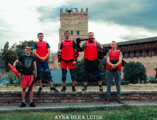 Луцькі лицарі готуються до чемпіонату України