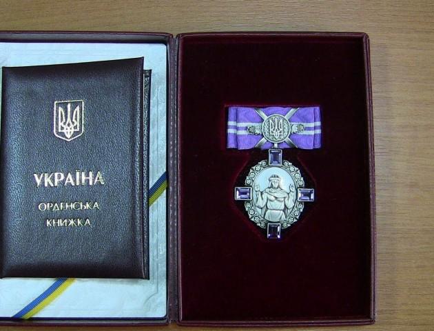 Волинянку нагородили орденом княгині Ольги III ступеня
