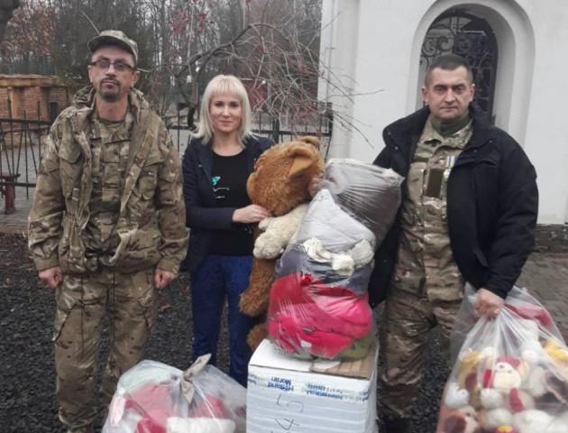 Ківерцівські волонтери зібрали допомогу для дітей-сиріт на Сході України