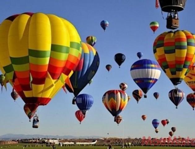 Вперше в Луцьку - фестиваль повітряних куль
