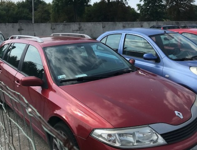 На «Ягодині» затримали трьох водіїв на незаконних авто. ФОТО