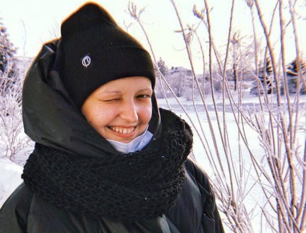 Онкохвора Мар'яна Пархом'юк пройшла половину лікування