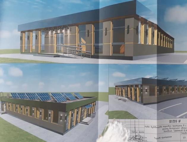Біля Луцька збудують торгово-розважальний центр