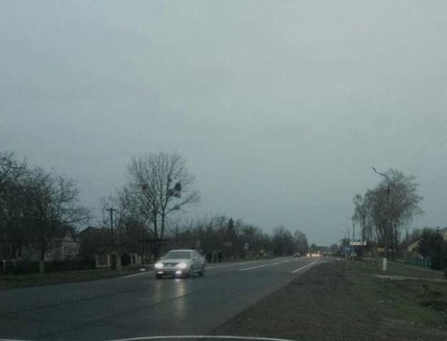 На Волині «євробляхарі» розблокували дорогу