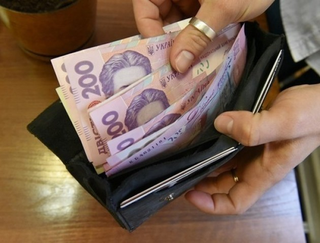 Середня зарплата на Волині більше 6 тисяч гривень