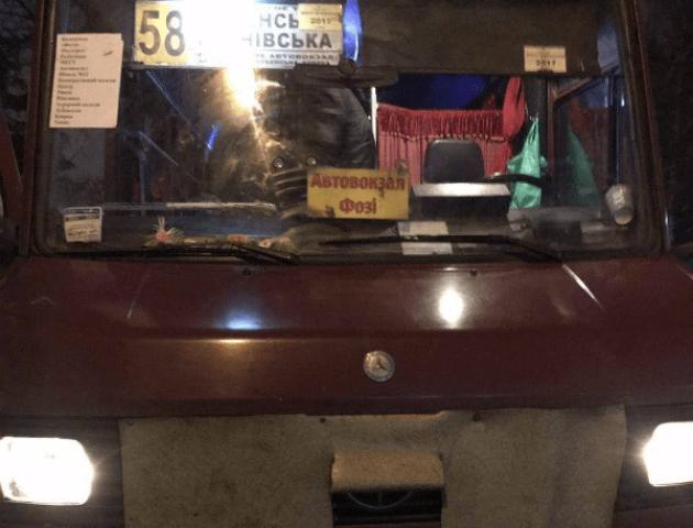 В Рівному п'яний водій маршрутки розвозив людей