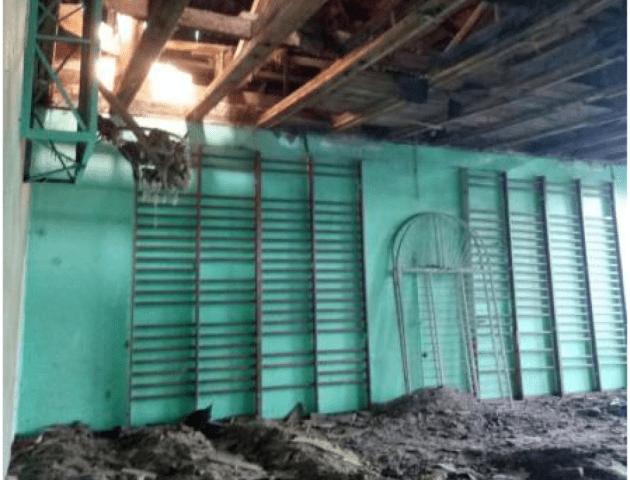 У ківерцівській школі ремонтують дах та спортзал. ФОТО