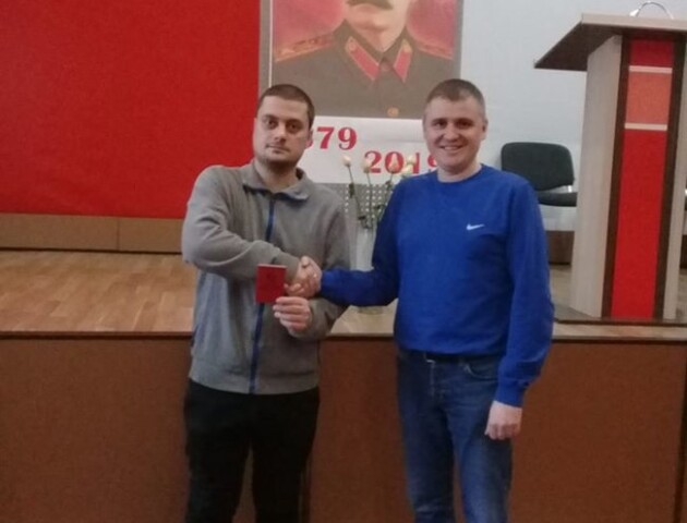 Скандальний луцький комуніст «засвітився» на конференції забороненої КПУ