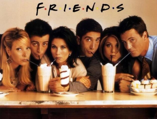 Серіал «Друзі» назвали найпопулярнішим серіалом серед молоді