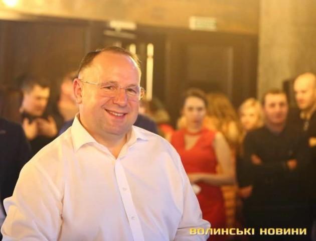 Перший вітає Олександра Спященка з Днем народження