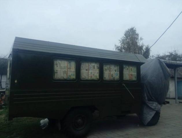 Волиняни відремонтували пересувний стоматкабінет для 14-ї бригади. ФОТО