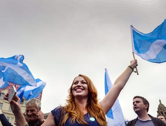 В Единбурзі десятки тисяч пройшли ходою на підтримку незалежності Шотландії