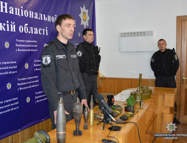 Волинський поліцейський мріє тренувати дитячу футбольну команду. ФОТО