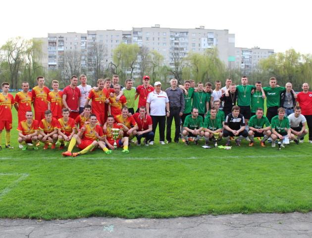 У Луцьку відбувся фінал футбольного Кубка Федерації