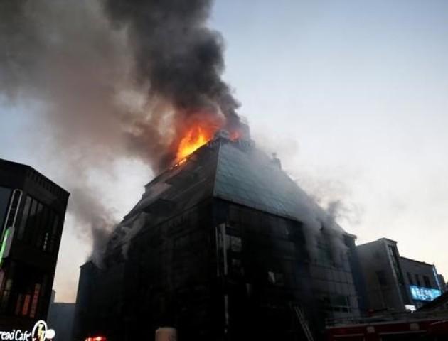 В Кореї під час пожежі у фітнес-центрі загинуло 29 осіб. ВІДЕО