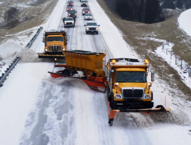 На Волині очистили дороги від снігу, - Мирка