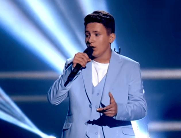 Волинський співак тріумфував у шоу «Голос. Діти»