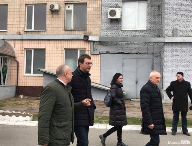 До Луцька приїхав міністр інфраструктури Володимир Омелян. ФОТО