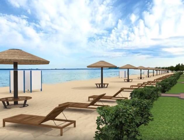 Як на Багамах: показали, яким зроблять центральний пляж у селі Світязь