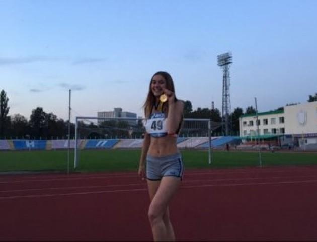 Лучанка здобула «золото» на Чемпіонаті України