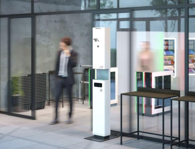 Луцька компанія Modern Expo розробила мобільну станцію дезінфекції. Чим вона цікава?