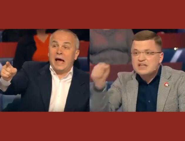 Лучанин Тарас Шкітер сперечався з нардепом Нестором Шуфричем. Відео словесної перепалки