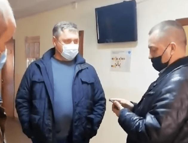 Депутат перешкоджав інвентаризації майна Луцького ЦПМСД. Заступник мера поскаржився у поліцію
