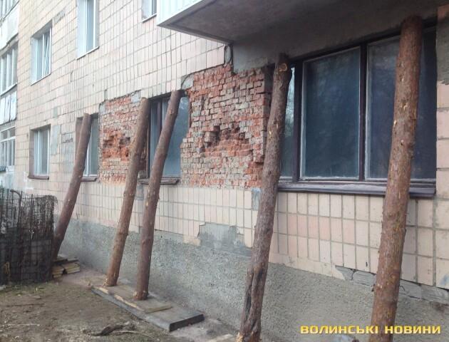 Понад сто будинків у Луцьку потребують капітального ремонту фасаду