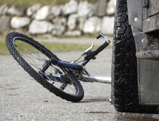 У Луцьку 8-річний велосипедист потрапив під колеса авто
