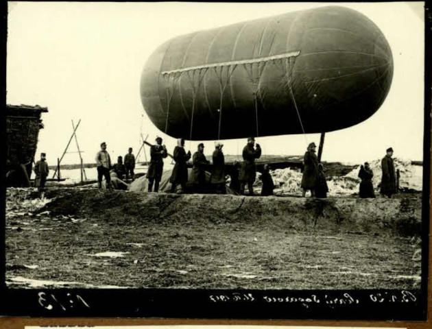 Як на Волині запускали аеростати сто років тому. РЕТРОФОТО