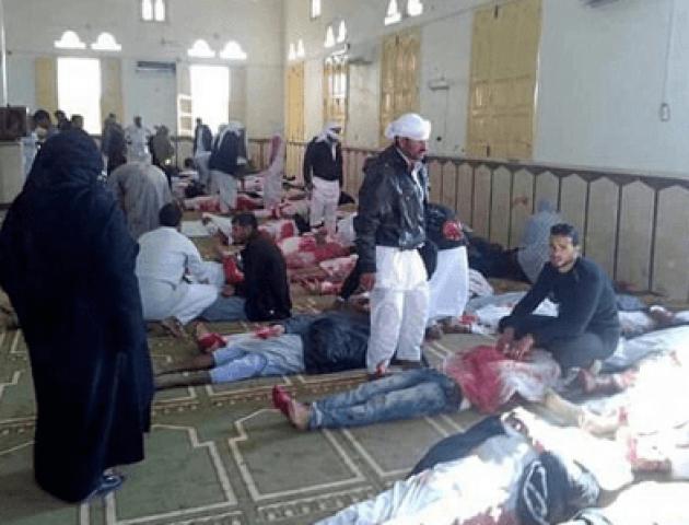 У Єгипті від теракту в мечеті загинули щонайменше 184 особи