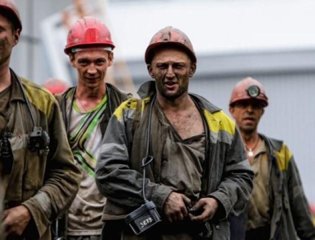 Волинський шахтар душевно привітав колег з професійним святом