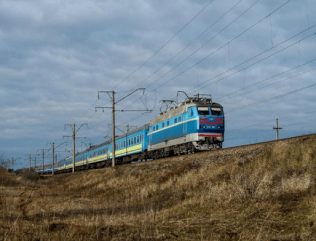 Потяг «Ковель – Київ» буде курсувати ще до 30 червня