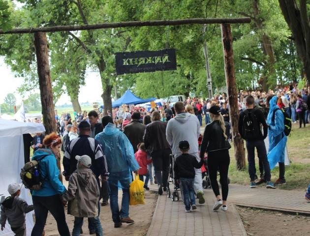 На Волині завдяки фестивалю «Княжий» оновили занедбаний парк