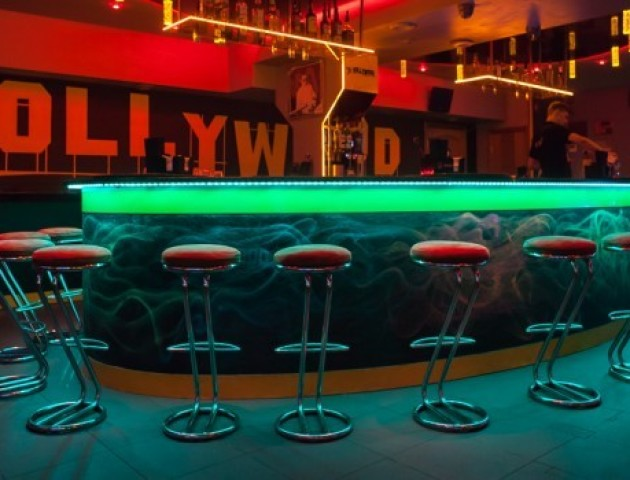 Луцький клуб «HOLLYWOOD» показав «закулісся»