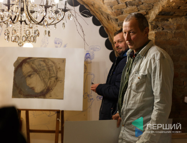 У Луцьку відкрилась арт-галерея Наталії Грабовецької «Образ».ФОТО