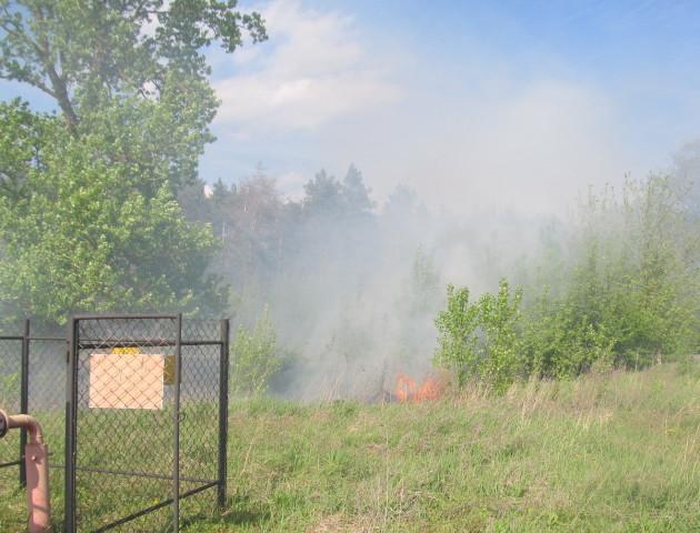 У спеку зростає ризик виникнення пожеж поблизу газопроводів