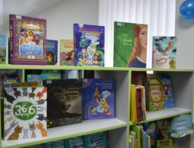 У Луцьку відкрили оновлену бібліотеку для дітей. ФОТО. ВІДЕО