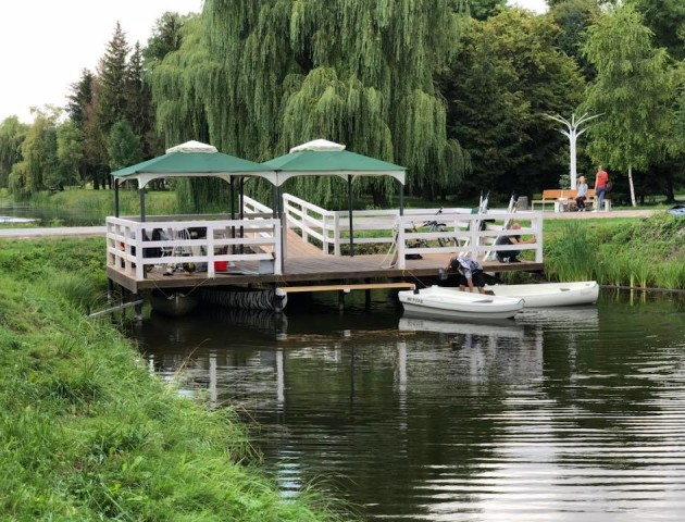«Луцька Венеція»: у парку запрацював прокат човників для прогулянок. ФОТО