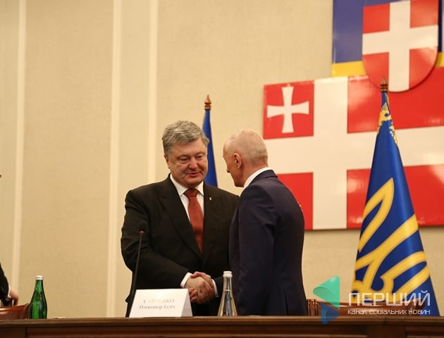 Петро Порошенко представив нового очільника Волині. ФОТО