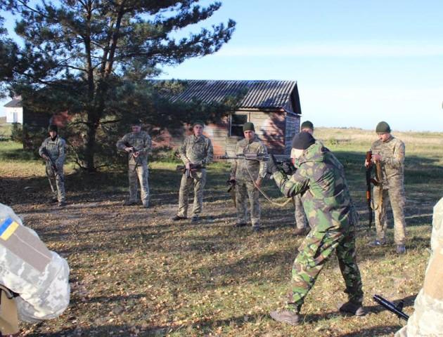 На Волині розпочалися військові навчання. ФОТО