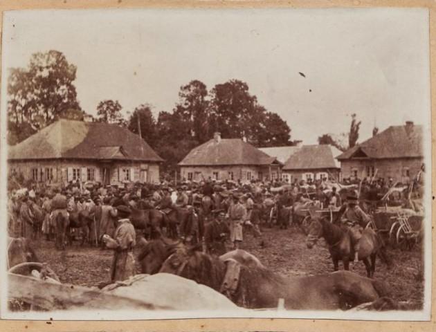 Показали базар на Волині початку XX століття. ФОТО