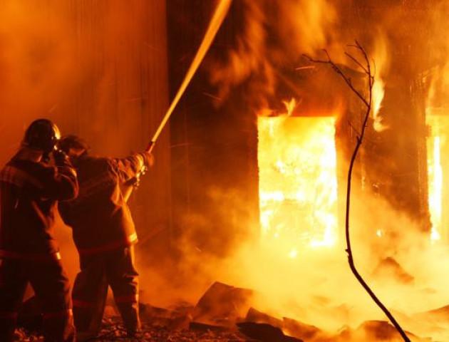 У селі на Волині під час пожежі загинув чоловік