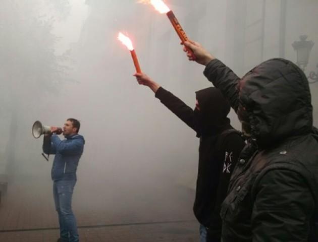 ОУН обіцяє громити російські об'єкти в Києві