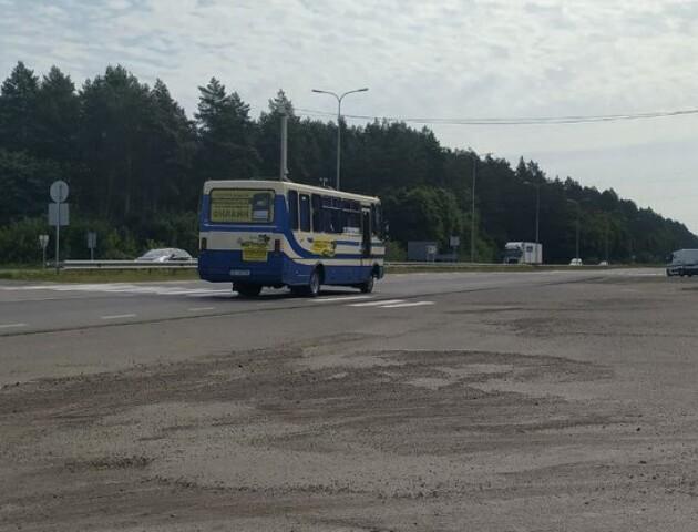 «Червона зона»: влада вимагає, аби автобуси об'їжджали Луцьк