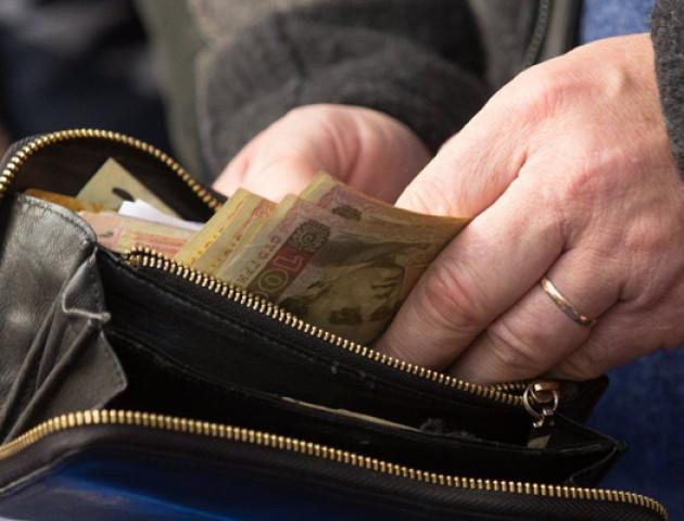 У волинян - найнижчі в Україні зарплати
