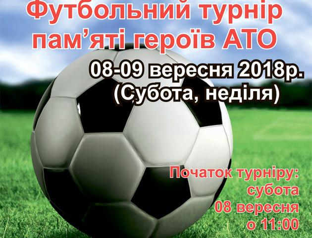 У Нововолинську відбудеться футбольний турнір пам'яті Героїв АТО